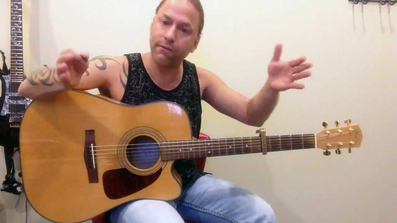 Learn To Play Blown Away By Carrie Underwood Guitar Lesson Youtube