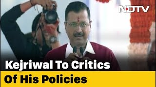 """God's Precious Things Free"": Arvind Kejriwal To Critics Of His Policies"