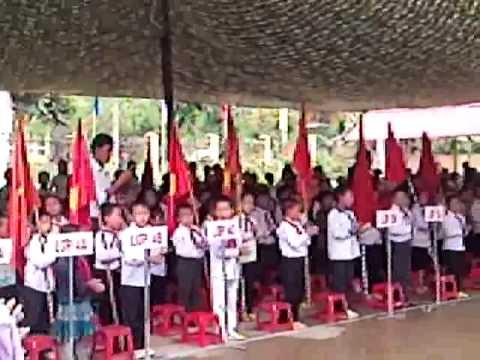 khai giảng năm học mới trường tiểu học Pả Vi huyện Mèo Vạc Tỉnh Hà GIang