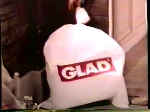 1987 Glad Trash Bags TV Commercial With Tom Bosley