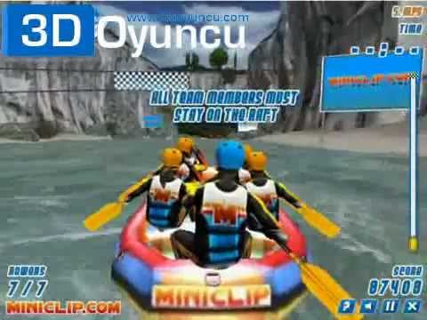 3D Rafting - 3D Oyunlar - YouTube