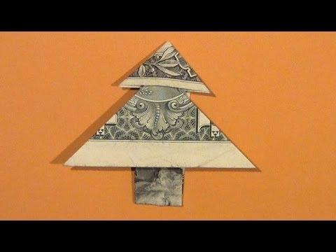 Dollar Money Tree Tutorial - How To Make An Origami Dollar Tree