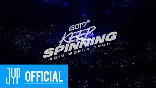 GOT7 (갓세븐) 2019 WORLD TOUR 'KEEP SPINNING' DVD & BLU-RAY PRE…