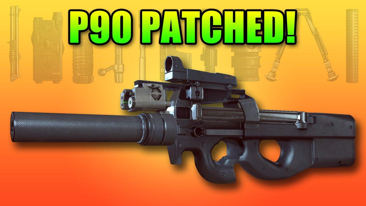 P90 Patched! Great Close Quarter PDW   Battlefield 4