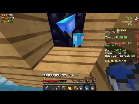Obsidian Trapping (Minecraft UHC Duels Montage) [Vqnom]