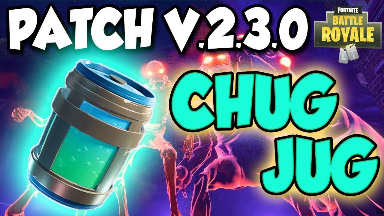 smotret video fortnite patch v 2 3 0 alle infos update neuerungen chug jug autorun uvm - fortnite how to auto run