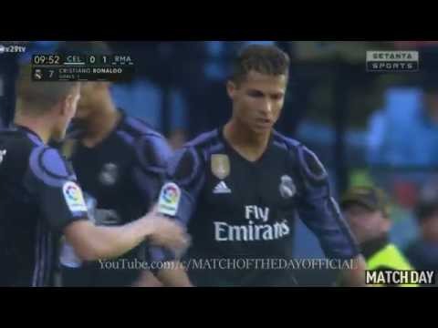 Cristiano Ronaldo Amazing Goal   Celta Vigo vs Real Madrid 0- 1   La Liga 17/ 05/ 2017 HD