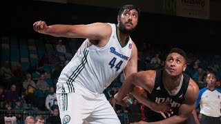 Highlights: 7-foot-5 Sim Bhullar's first month in the NBA D-League