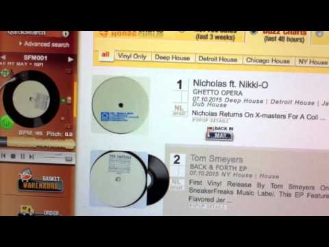 Second place Decks Records Buzz Chart Top 100
