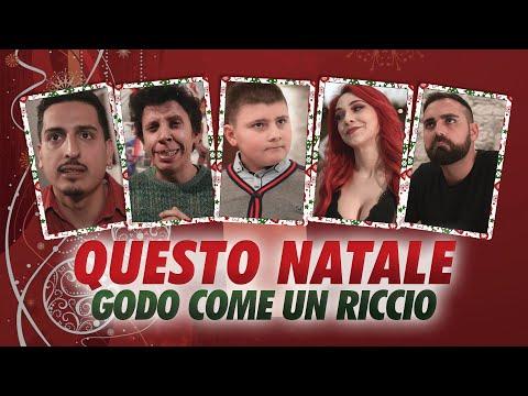 QUESTO NATALE GODO COME UN RICCIO /W. MATTY IL BIONDO