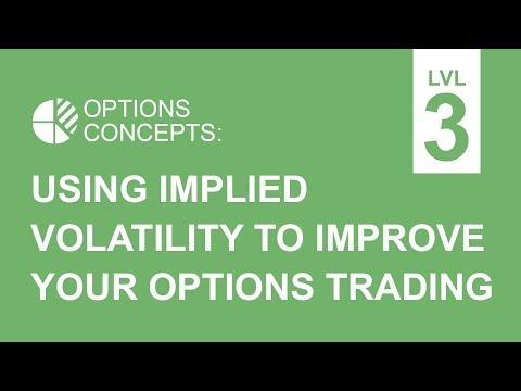 Using Implied Volatility To Improve Your Options Trading