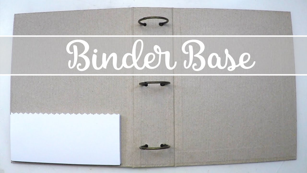 binder base how to create it youtube