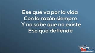 El arrepentido- Melendi, Carlos Vives (Lyric video)
