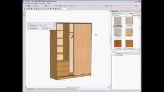 Видеоуроки Pro100. Проектирование шкафа-купе. Часть 3