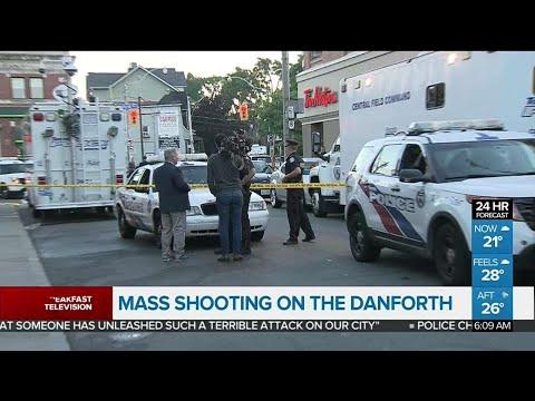 Mass shooting on the Danforth