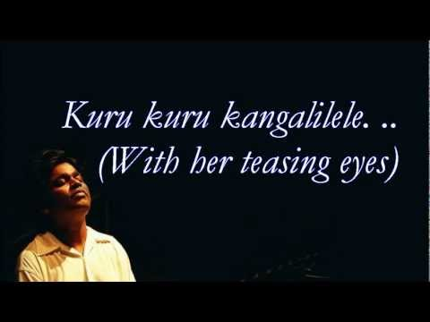 Couples Retreat - Kuru Kuru Song With Lyrics(With English Lyrics)