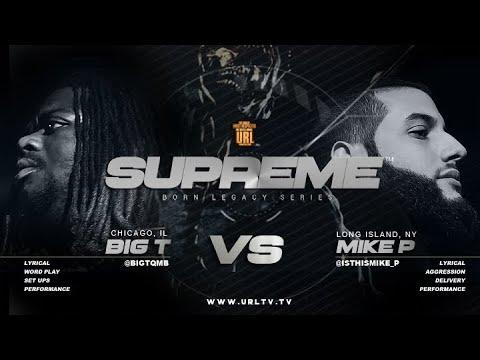 BIG T VS MIKE P SMACK/ URL RAP BATTLE