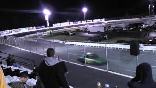 1st Ace Speedway Win Extremes May 2012 #46 saturn ben hanks photo finish