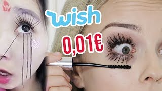 Die KRASSESTE Mascara der WELT - 1 CENT von wish | XLAETA