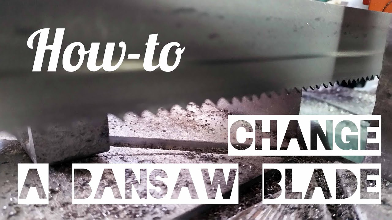 How to change a bandsaw blade ellis 1600 youtube how to change a bandsaw blade ellis 1600 keyboard keysfo Gallery