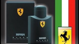 Unboxing: Black By Ferrari Scuderia, 4.2 Oz. (124ml) Cologne Spray + More (1080p)!