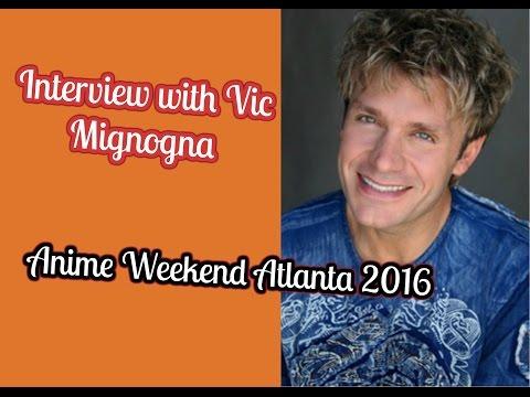 Vic Mignogna Interview AWA 2016