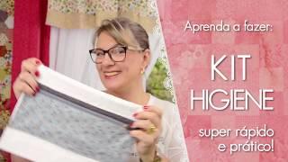 PAP Kit de Higiene na Toalha – Dica de Sexta (Tutorial Patchwork)