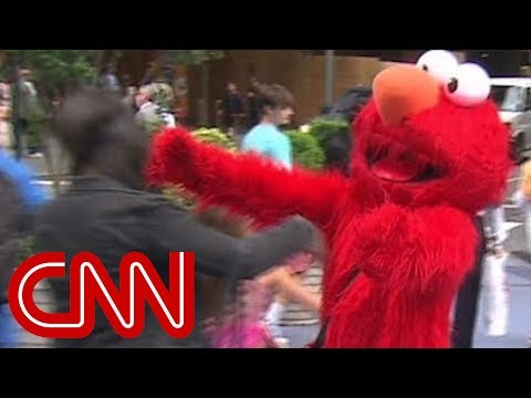 Elmo Impersonator Rants And Cusses At Kids Youtube