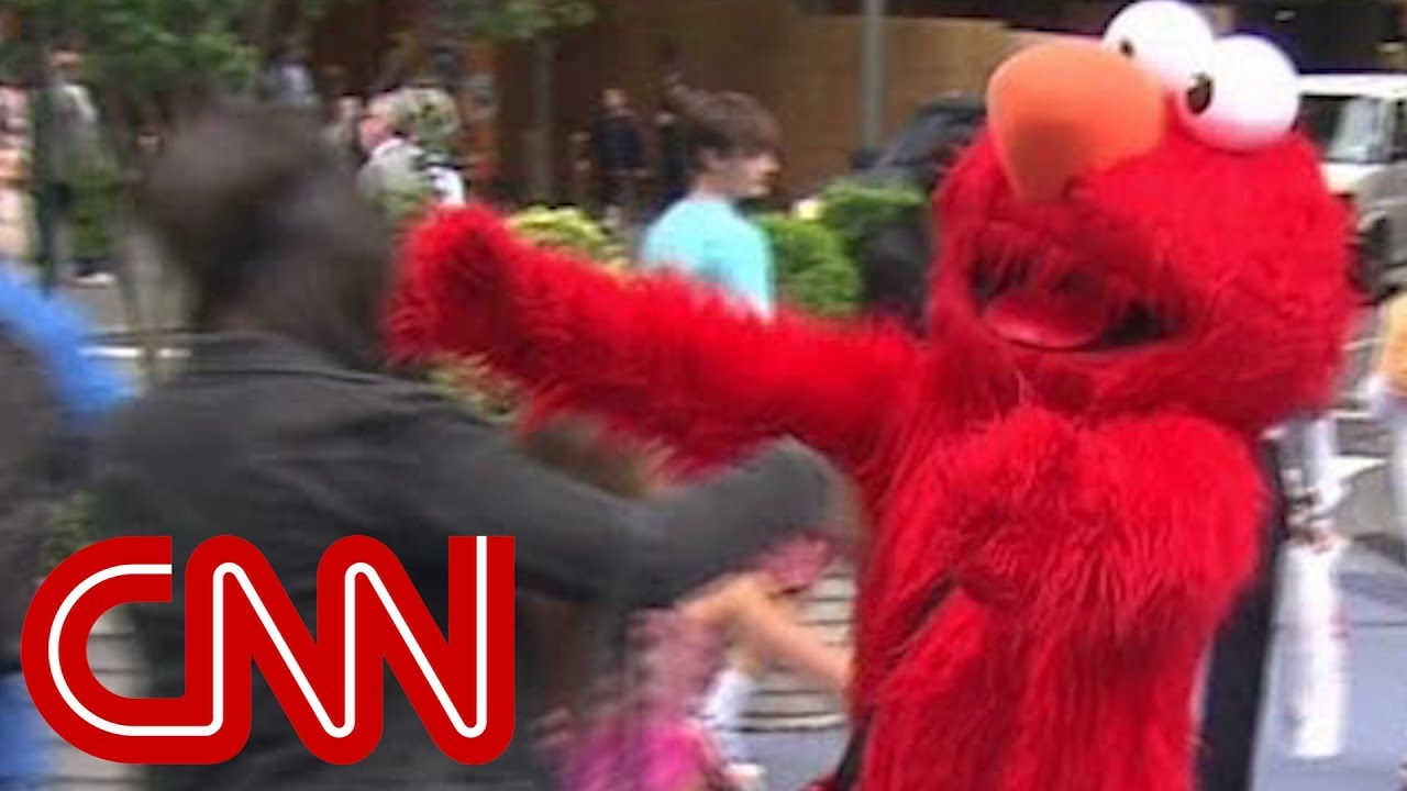Elmo Impersonator Rants And Cusses At Kids