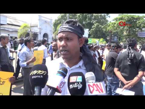 Journalists in Colombo demand legal action against Navy Chief