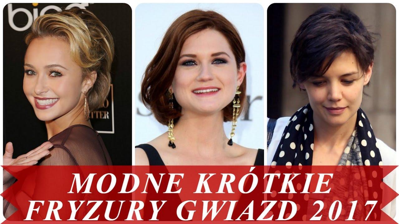 Modne Krótkie Fryzury Gwiazd 2017