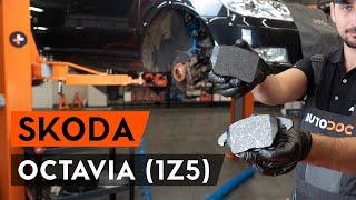 Wie Verschleißsensor SKODA OCTAVIA Combi (1Z5) wechseln - Online-Video kostenlos