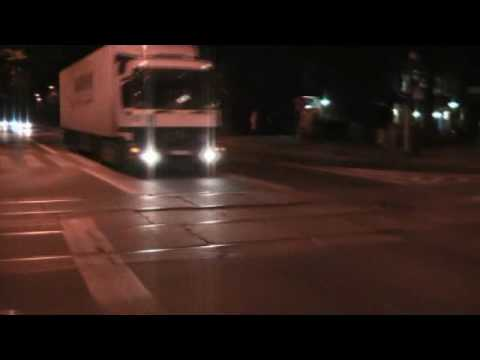 Nocny atak tirów na centrum Gliwic