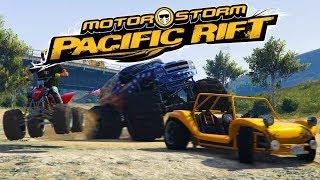 GTA V Motorstorm Pacific Rift 2008 Trailer Remake PS4
