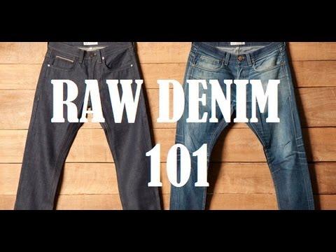 Raw Denim 101: A Beginners Guide to Understanding Raw Denim