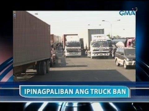 Saksi: Manila truck ban, sa Feb. 24 na ipatutupad