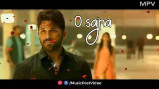 Heart Touching Allu Arjun whatsapp status video || South Hindi Dubbed Song Status