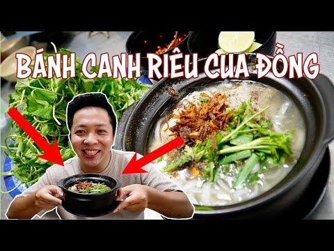 Bánh canh riêu cua đồng món ngon lạ miệng chiều mưa Sài Gòn 360 ĐỘ NGON TV