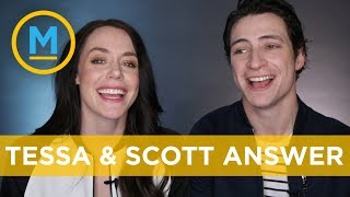 Scott Moir and Tessa Virtue answer the internet's most burning questions! | Your Morning