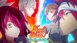 Food Wars The Fourth Plate Opening Hd Youtube