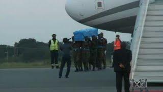 La dépouille de Kofi Annan arrive à Accra