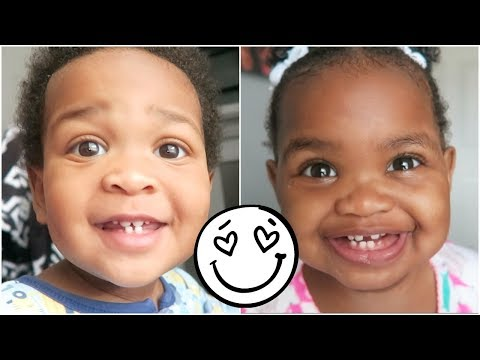 THE TWINS HELP WITH THE INTRO AND WE ACTUALLY TRY VEGAN FOOD! 👶🏽👶🏾😍😍
