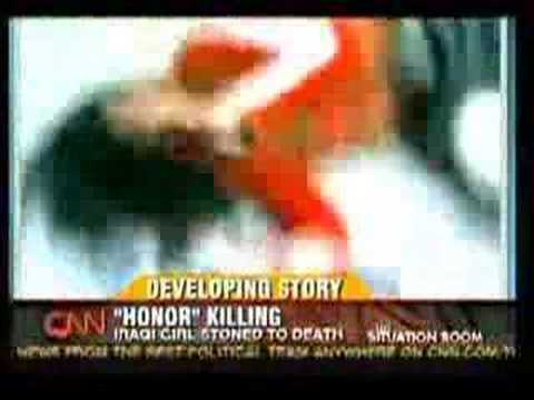 Honor Killing - Iraqi Girl Stoned