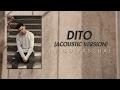 Inigo Pascual - Dito Acoustic Version (Audio)