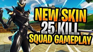 New Oblivion Skin! | Console builder | 25 Kill Squad Gameplay | Fortnite Battle Royale