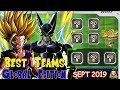 Best Teams Dokkan Battle Global - SEPT 2019 Edition | DBZ Dokkan Battle (300M DL)
