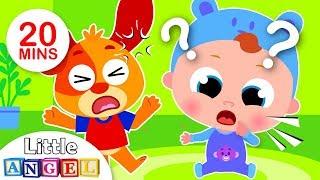 Baby Learns First Words, London Bridge with Princess Belle, Humpty Dumpty Kids Songs by Little Angel