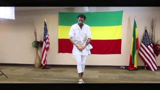 "How to Dance Ethiopian cultural dance ''Gurgigana"" Part 2 by Ambaw Desalegn"
