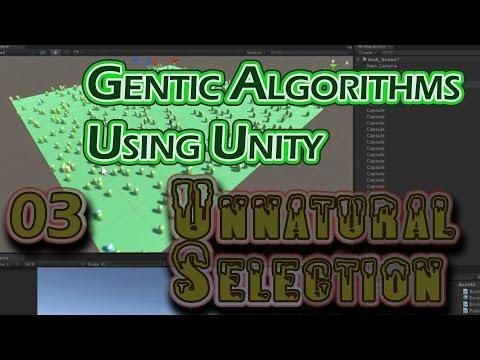 Genetric Algorithm in Unity - Life, Death & Babies - P3