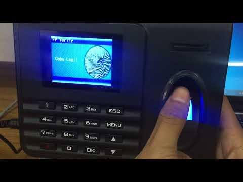 Rahasia Cara Reset Admin Mesin Fingerprint Solution P207-pairwan from YouTube · Duration:  6 minutes 17 seconds